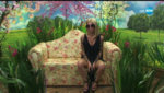 Перука от естествен косъм - светли цветове - равен път - 21 см